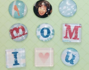 DIY Craft Kit: Glass Marble Magnet - Petite