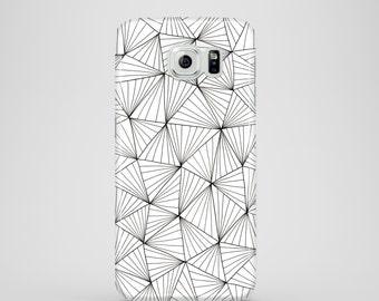 Stripe Triangles mobile phone case / Samsung Galaxy S7, Samsung Galaxy S6, Samsung Galaxy S6 Edge, Samsung Galaxy S5 / graphic iPhone case