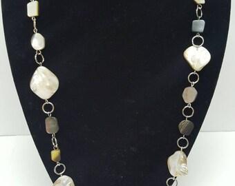 Irregular Shell Necklace