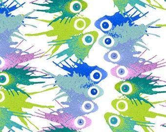 Dan Bennett Cosmos Empyrean in Azure 1/2 Yard for Rowan Fabrics