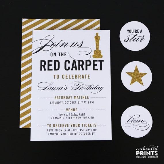 Roten Teppich Partei Einladung roten Teppich Geburtstag