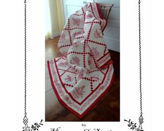 Floral Chain quilt pattern