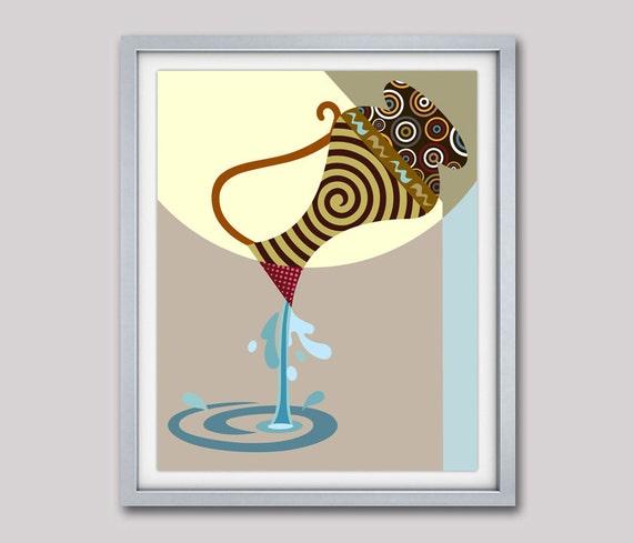 Aquarius Star Sign Poster,  Aquarius Gift, Aquarius Print Wall Art, Zodiac Art Print, Zodiac Gift, Astrology Poster, Horoscope Gift