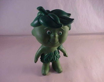 Green Giant Little Sprout Vinyl Advertising Figure Doll