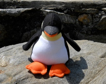"""Plush Penguin- """"Tux"""""""