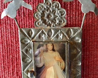 Vintage nicho/frame with angels