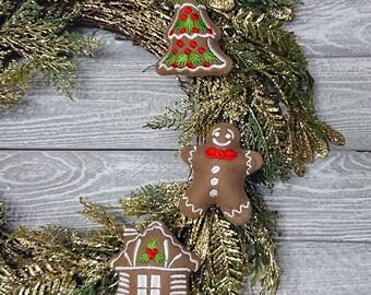 In The Hoop Machine Embroidery Designs Christmas Gingerbread Cookies