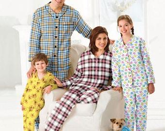 PET PAJAMAS Sewing Pattern - Plus Size Adult Teen Cild Pets Dog PJS Sleepwear 2771