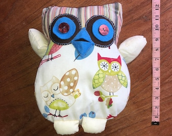 hand made owl soft toy