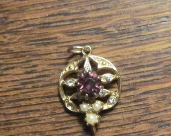 Costume Jewellery Pendant