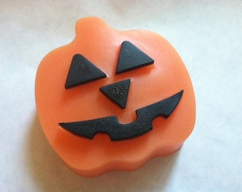 Pumpkin Head! Pumpkin Pecan Waffles Soap. Buttermilk Soap. Detergent Free. Glycerin Soap.
