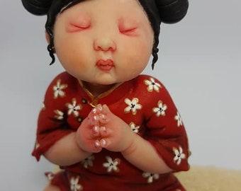 Ooak Baby Oriental Zen