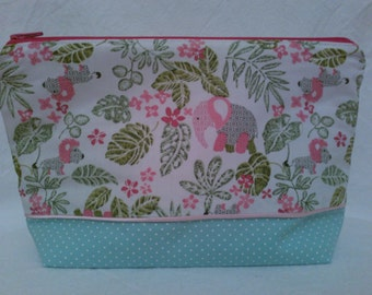 Pink Elephants zip package