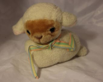 Avon Lamb coin bank from 1984