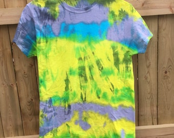 Unisex Tie Dye Soft Grunge Tumblr Goth Shibori T-shirt Shirt  Men Woman Psychedelic Boho Hippie Chic by The Wild Willows