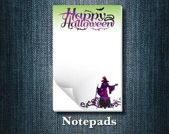 Halloween Notepad (set of 5)