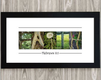 Grandma easter gift etsy mothers day gift faith wall decor hebrews 11 1 easter gift for negle Image collections
