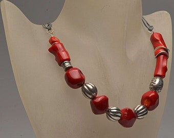 Jewelry Necklace Coral necklace