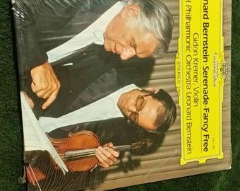 Serenade / Fancy Free. Leonard Bernstein . Kremer : Violin. Vinyl Record LP