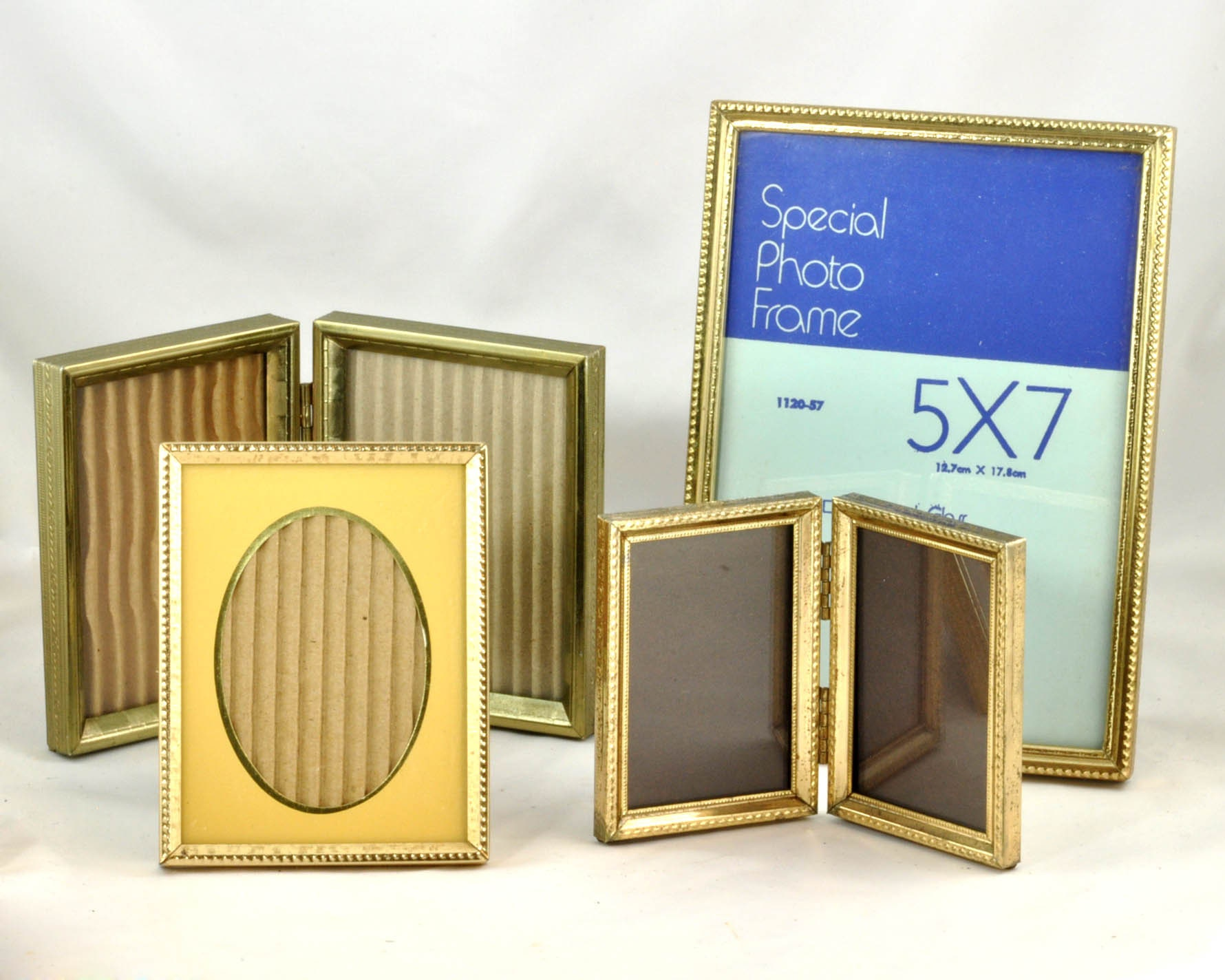 Vintage Brass Photo Frame 1970s - Group Lot of Four Frames - 5 x 7 ...