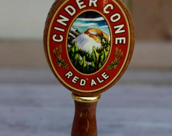 Deschutes Cinder Cone Red Ale Beer Tap