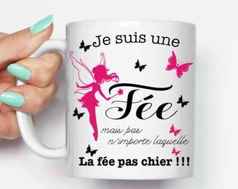 """Mug """"I'm a fairy"""""""