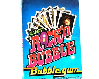 4 Rock 'n Bubble Rock Music Playing Card Packs Totally 80's