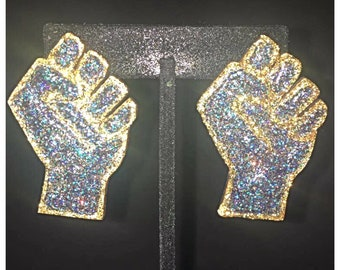 Power to the People Earrings