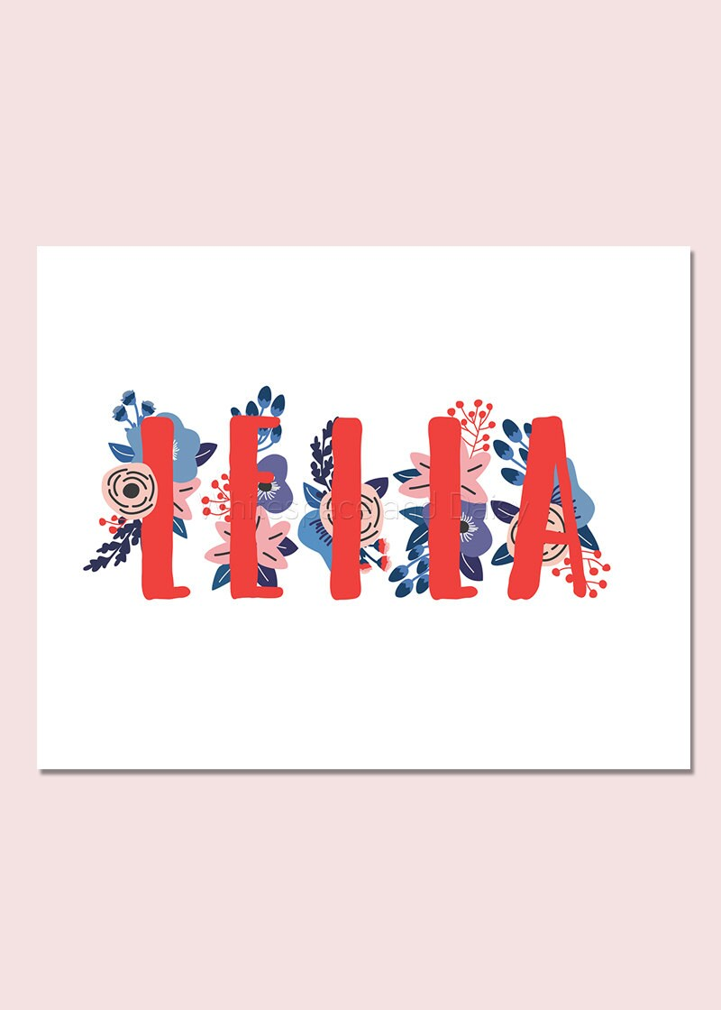 Leila personalized name sign baby name wall art baby name sign zoom negle Gallery