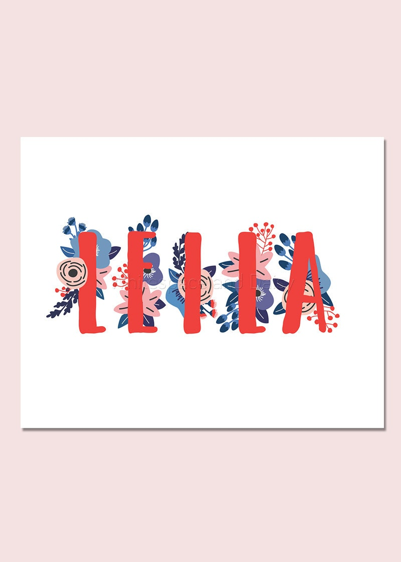 Leila personalized name sign baby name wall art baby name sign zoom negle Choice Image