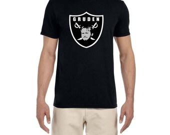 Gruden Cartoon Logo high quality T-shirt