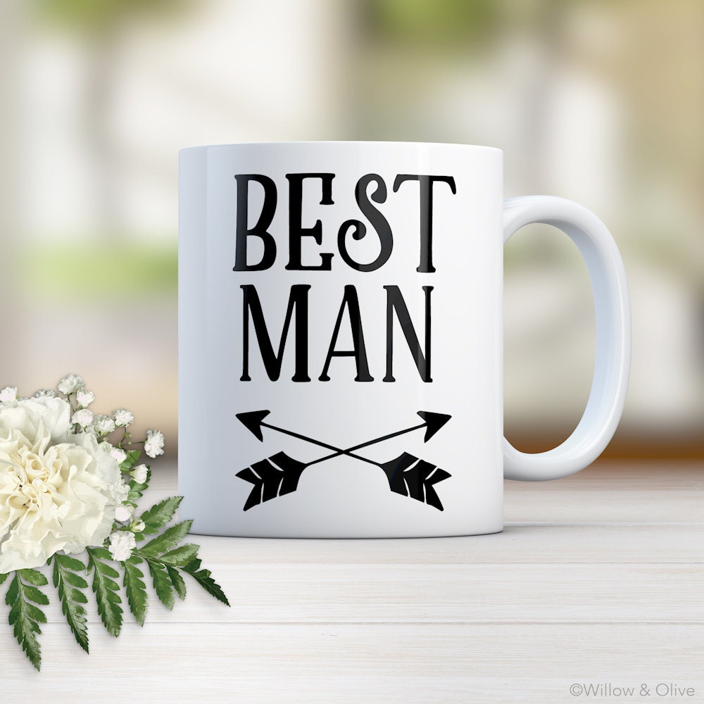 Best Man Mug Groomsmen Gift Groomsman Gift Gift for