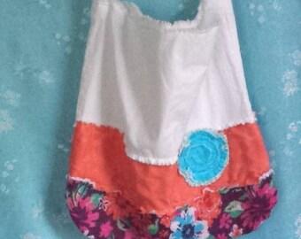 Shoulder Tote Bag, handmade Tote Bag, Rag Tote Bags