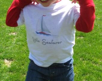 Cute Toddler Tshirt, Unique Kids Clothes, Nautical Kids Clothes, Sailboat, Nautical Kids, Boat Baby, Gift