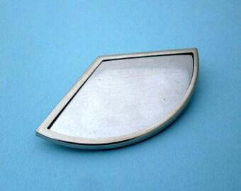 Silver Fan Pin Setting Frame Mounting 128ST