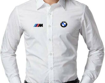 BMW Motorsport logo men's Dress Shirt more colors and sizes Free Shipping