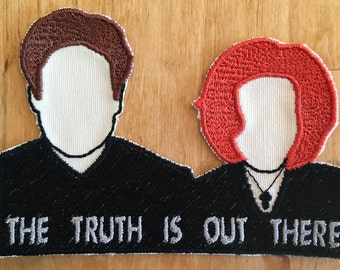 X-Files Mulder and Scully Patch