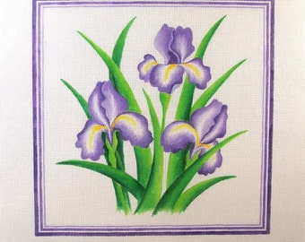 Iris Needlepoint - Jody Designs