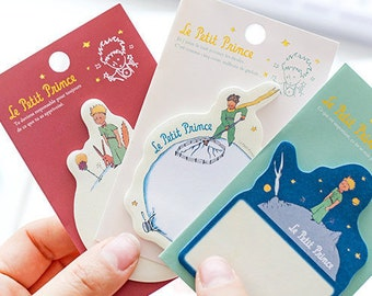 The Little Prince Sticky Notes • Le Petit Prince Sticky Notes (30 sheets) Planner Supplies