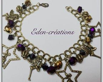 Bracelet charms, bracelet charms, Angels, fairies, stars, beads