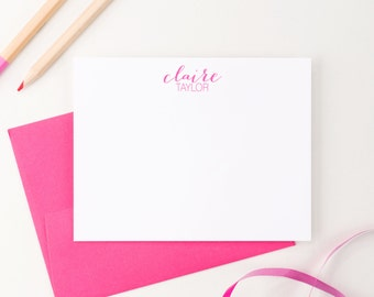Personalized Bridesmaid stationery // Personalized bridesmaid gift // custom stationery // wedding party gift // hostess gift, PS003