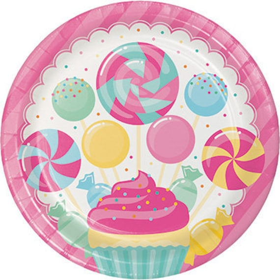 Candy Bouquet Dinner Plates Candyland Party Paper Napkins Candy Buffet Dinnerware Dinner Plates from WeBringTheParty on Etsy Studio  sc 1 st  Etsy Studio & Candy Bouquet Dinner Plates Candyland Party Paper Napkins Candy ...