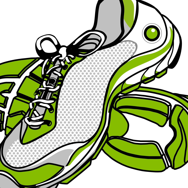 athletic shoe clip art running shoe clipart marathon clipart rh etsystudio com clip art tennis shoes free