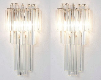 murano wall lamp sconce - mid century