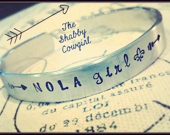 NOLA Girl cuff bracelet