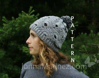 German Shells Virus Hat Pattern, PDF, Crochet Hat Pattern