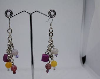 Earrings Cluster