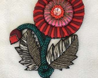 Handmade patch Crafts Handmede embroidery Patches