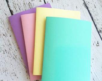 SPRINGTIME VALUE BUNDLE of 4 Travelers Notebook Inserts