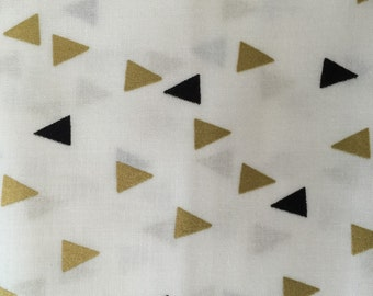 Gold and Bold from Windham Fabrics triangles